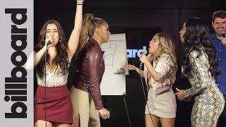 Fifth Harmony Pictionary Showdown: Lauren & Dinah vs. Normani & Ally | Billboard