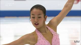 浅田真央(Mao Asada) 2006 NHK杯 SP 「ノクターン」