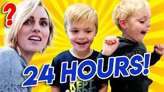 Kids Control The Day For 24 Hours! Jackson and Calvin pick EVERYTHING! | Ellie And Jared