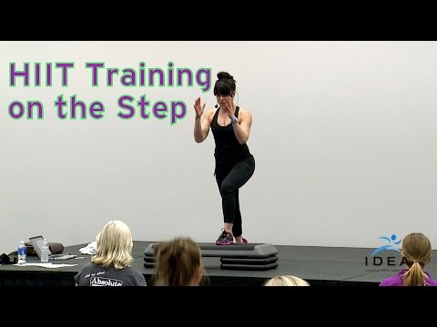 HIIT Training on the Step