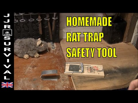 DIY RAT TRAP SAFETY DEVICE