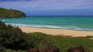 Relaxation Video HD #1 KAUAI Best Beaches   Nature Sounds Ocean relaxing meditation video sleep Segm