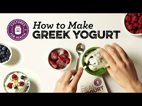 video Greek Yogurt Starter Culture