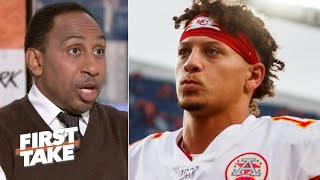 Patrick Mahomes' QB sneak play wasn't a wise move – Stephen A. | First Take
