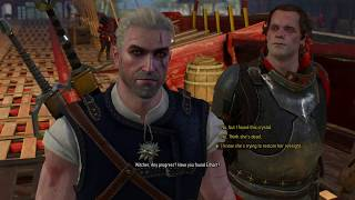 Give megascope crystal to Radovid (Redania's Most Wanted) Witcher 3: Wild Hunt
