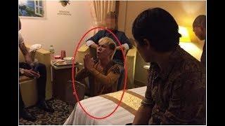 Cận cảnh Châu Việt Cường niệm chú đêm hôm đó sau khi rước thầy cúng về cứu Huyền pink nhưng quá muộn