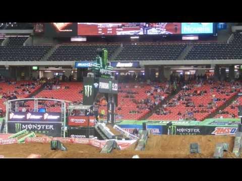Atlanta SX 2014 250 Group C Practice