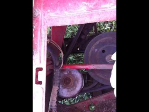 Drive Belt Problem Mtd Hydrostatic Lawn Mower Youtube