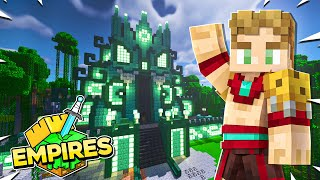 Building an AMAZING Water Temple! - Empires SMP! - Ep.15