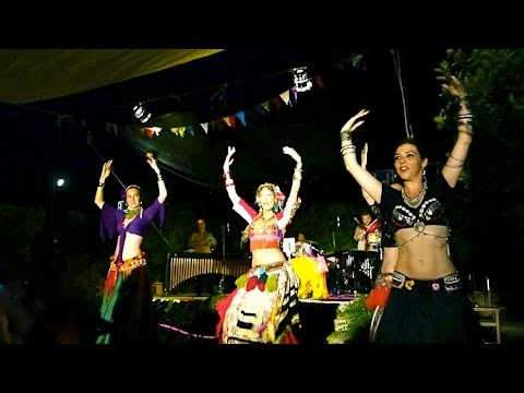 Maya BOOM! American Tribal Style improv belly dance (live music) play HD