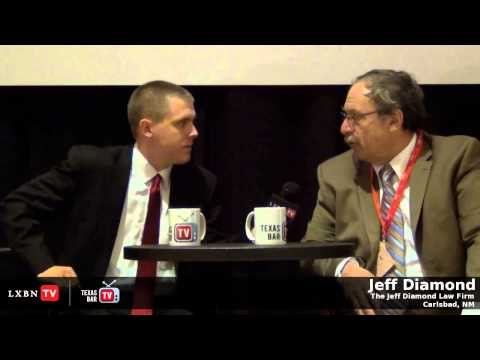 Disability Attorney Jeff Diamond gets interviewed by the Texas Bar