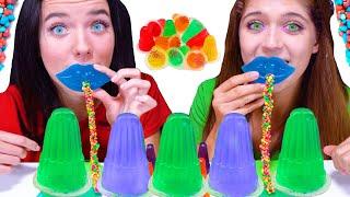 ASMR Homemade Jelly Mukbang | Eating Sounds LiLiBu