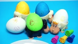Coloring Easter Eggs - DIY Đồ chơi trẻ em, Lắc trứng, nhuộm màu, trang trí trứng Phục Sinh 2014