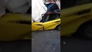 حادث بكوبرى القبارى الاسكندرية     -
