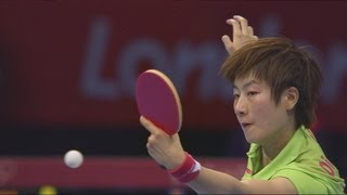 Women's Table Tennis Singles Gold Medal Match - China v China | London 2012 Olympics