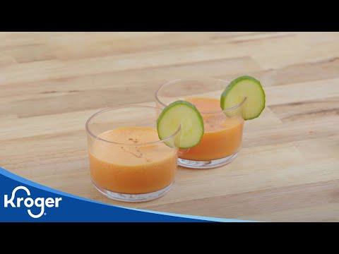 ¡Que Rico! Watermelon Gazpacho