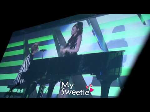 131027 SMTOWN in Tokyo _ Almost is never enough ( sung by. Henry, Tiffany )