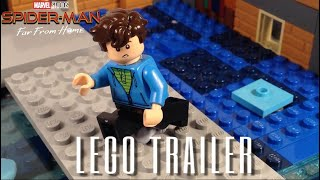 Spider-Man Far From Home Trailer in LEGO