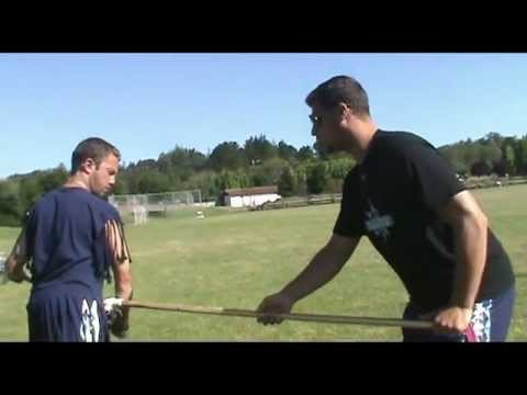 All West Lacrosse Tutorials - Duke's Matt Kunkel on Defense from X