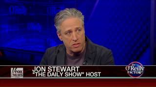 Jon Stewart on The O'Reilly Factor 2014.11.14 Part 1