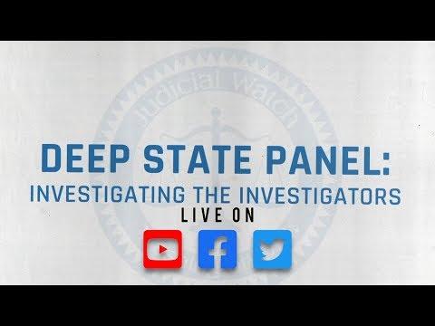 VIDEO--Deep State Panel: Investigating the Investigators Countdown Update