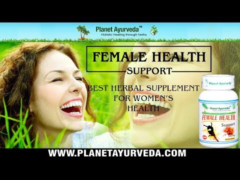 Incredible Herbal Remedy for Women's Health - Female Health Support