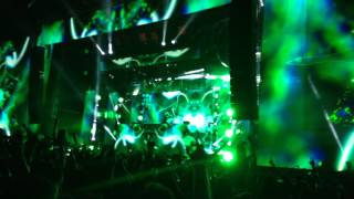 Calvin Harris Cuba (You got the love) Creamfields 2014`