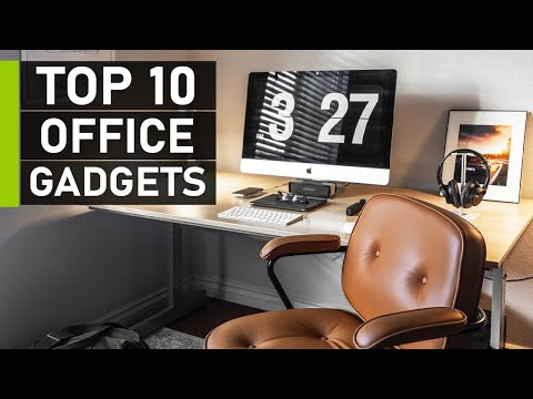 Top 10 Coolest Office Gadgets & Accessories 2021
