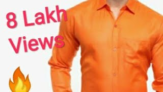 Mens Shirt cutting and stitching full video in very easy way