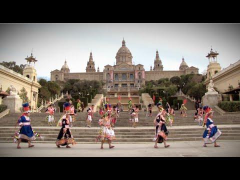 ROMPIENDO FRONTERAS - Fruto del Ande - Tinkus San Simón Barcelona Oficial 2015