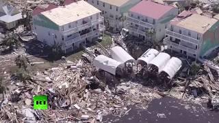 Aerial footage: Hurricane Michael aftermath