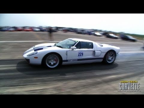 Joe Dirt Racing 223mph Mullet Ford GT - The Texas Mile - March 2011