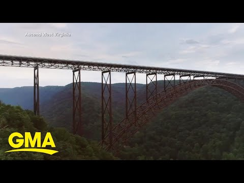 Exploring New River Gorge Bridge in West Virginia, the US' newest national park l GMA