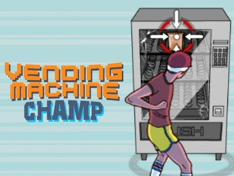 """ALL I WANTED WAS A SNICKERS"" - Vending Machine Champ - Flash Friday - Smashpipe Games"