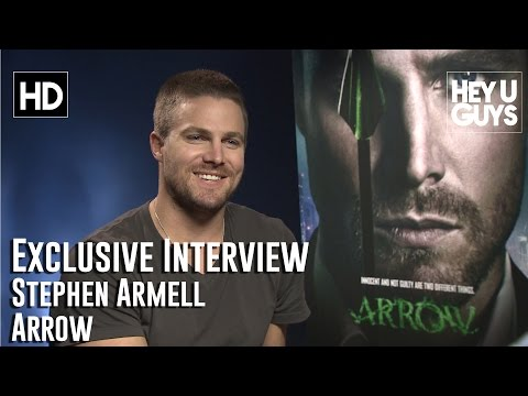 Stephen Amell Interview - Arrow - YouTube