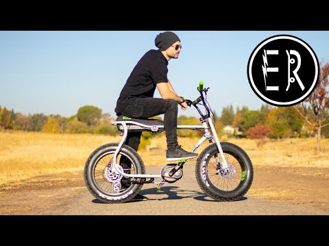Ruff Cycles Lil Buddy electric bike review: SERIOUS FAT TIRE GOODNESS!!!