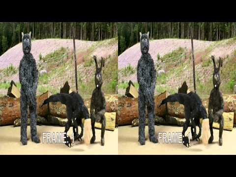 Wolfie's two magic words 3D stop motion