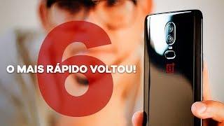 O smartphone MAIS RÁPIDO DO MUNDO está de volta! ONEPLUS 6 - Unboxing