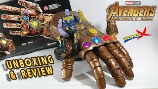 Review Guantelete del Infinito Marvel Legends Avengers Infinity War Hasbro 2018 Revision Español