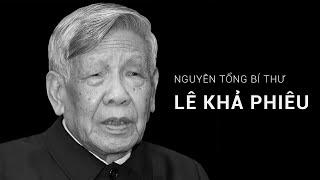 Lễ viếng Nguyên Tổng Bí thư Lê Khả Phiêu | VTC1