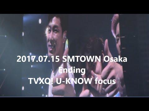 [윤호FANCAM] SMTユノ OSAKA Ending
