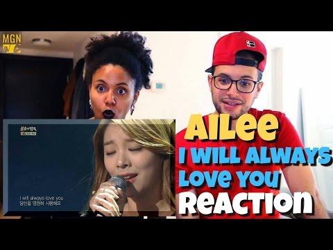 에일리 Ailee - I Will Always Love You 불후의 명곡 Reaction