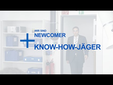 Newcomer und Know-How-Jäger