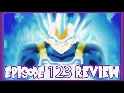 VEGETAS NEW FORM?!? ULTRA SSJ BLUE?!? DRAGON BALL SUPER EPISODE 123 REVIEW