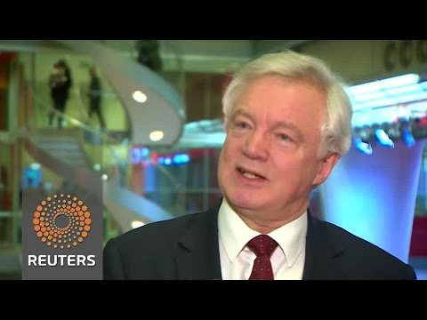 """UK will seek customs deal as """"frictionless"""" as possible - Brexit minister"""