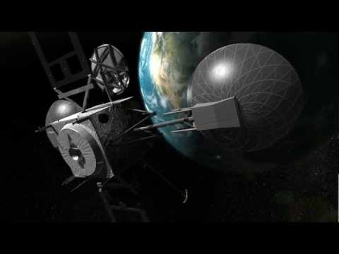 Satellite Animation for NASA's Tracking and Data Relay Satellite Program (TDRS)