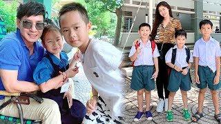 Dàn Sao Việt Chia Sẻ Cảm Xu'c Trong Ngày Cho Các Con Đến Trường Khai Giảng - TIN TỨC 24H TV