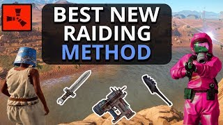 The BEST OP Early Game RAIDING Method For SOLO Players!!? Rust Solo Survival Gameplay Part 2