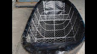 Thuyền Câu - Cano Hưng Phú được chế tạo từ màng chống thấm HDPE