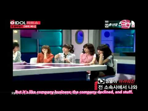 Idol Chart Show Royal Family - Sunny & Sooyoung Cut [04.27.11] (en)